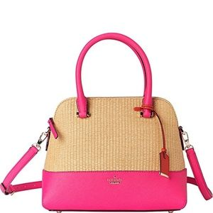 Kate Spade Cameron st Straw Maise in Pink